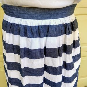Banana Republic Skirts - BANANA REPUBLIC awning striped patio maxi skirt XS